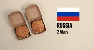 bigmac Russie