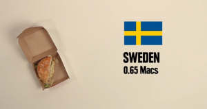 bigmac Suède