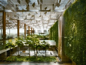 mur vegetal Changi
