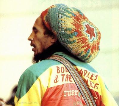 Bob Marley et bonnet